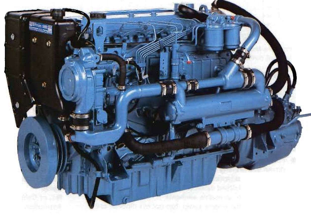 Perkins M135 marine engine